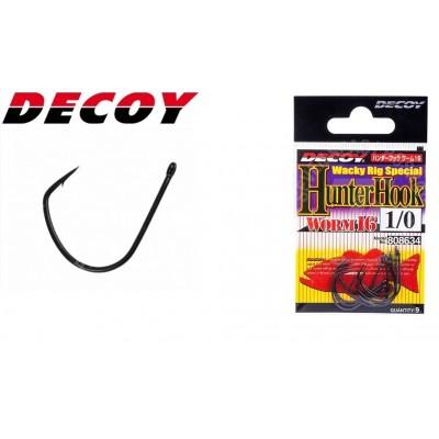 Decoy hunter hook worm 16