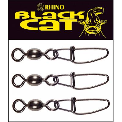 Black Cat Cross Lock Swivel