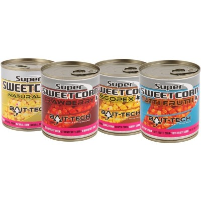 Bait-Tech Super Sweetcorn Natural 300 Gr.
