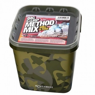 Bait-Tech Big Carp Method Mix Krill & Tuna 3 Kg