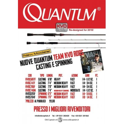 Quantum Team KVD spinning