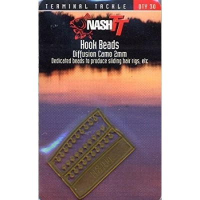 Nash Hook Beads camo 2 mm