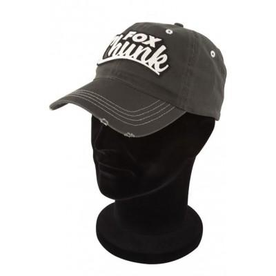 Fox Chunk Khaki Twill Baseball Cap