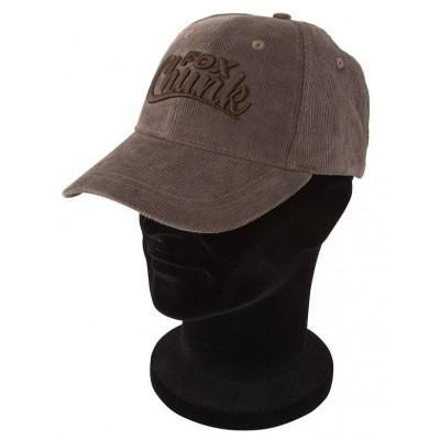 Fox chunk khaki cord baseball cap