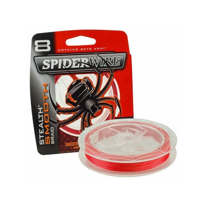 Spiderwire Stealth Smooth Braid 8 Code Red 150m