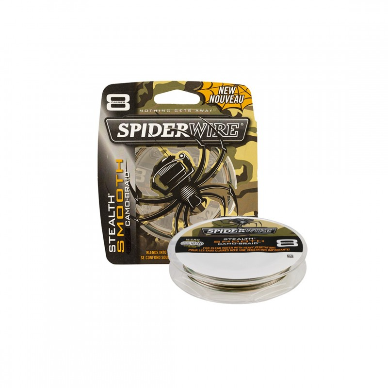 Spiderwire Stealth Smooth Braid 8 Camo 150m