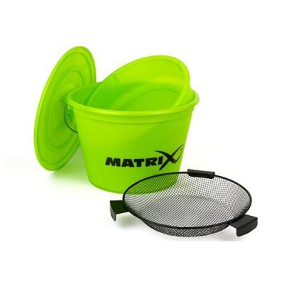 Matrix Bait Bucket set Lime