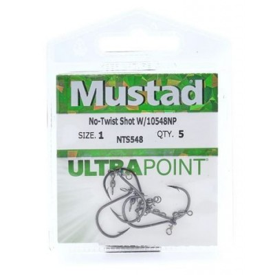 Mustad No-Twist Shot
