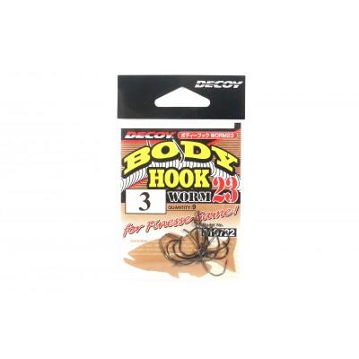 Decoy Body Hook Worm 23