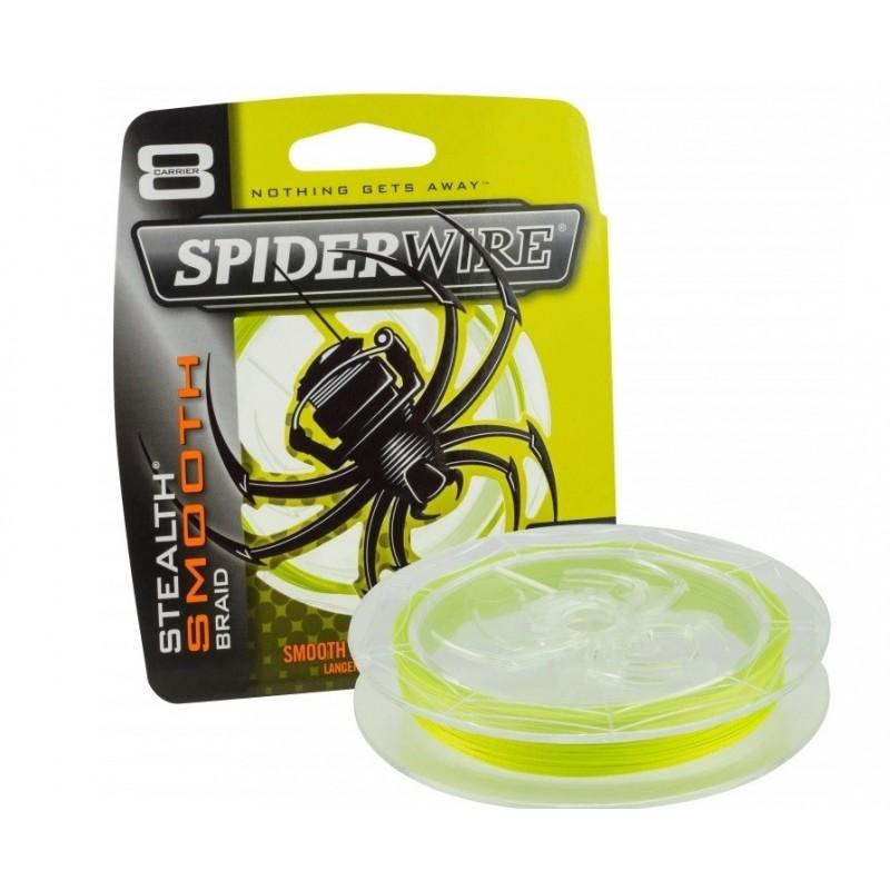 Spiderwire Stealth Smooth Braid 8 Hi-Vis Yellow 150m